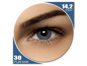 Air Optix Colors Blue - lentile de contact colorate albastre lunare - 30 purtari (2 lentile/cutie)