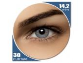 Air Optix Colors Sterling Gray - lentile de contact colorate gri lunare - 30 purtari (2 lentile/cutie)