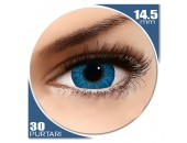 Freshlook Colorblends True Sapphire - lentile de contact colorate albastre lunare - 30 purtari (2 lentile/cutie)