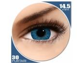Freshlook Colors Blue - lentile de contact colorate albastre lunare - 30 purtari (2 lentile/cutie)