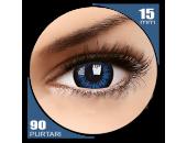 Big eyes Cool Blue - lentile de contact colorate albastre trimestriale - 90 purtari (2 lentile/cutie)