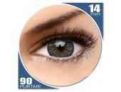 Elegance Grey - lentile de contact colorate gri trimestriale - 90 purtari (2 lentile/cutie)