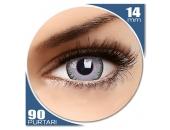 Fusion Grey/Violet - lentile de contact colorate violet trimestriale - 90 purtari (2 lentile/cutie)