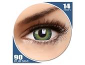 Fusion Yellow/Green - lentile de contact colorate verzi trimestriale - 90 purtari (2 lentile/cutie)