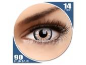 Glamour Grey - lentile de contact colorate gri trimestriale - 90 purtari (2 lentile/cutie)