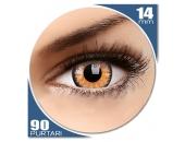 Glamour Honey - lentile de contact colorate caprui trimestriale - 90 purtari (2 lentile/cutie)