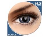 TruBlends Blue - lentile de contact colorate albastre zilnice - (10 lentile/cutie)