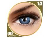 Adore Dare Aqua - lentile de contact colorate albastre trimestriale - 90 purtari (2 lentile/cutie)