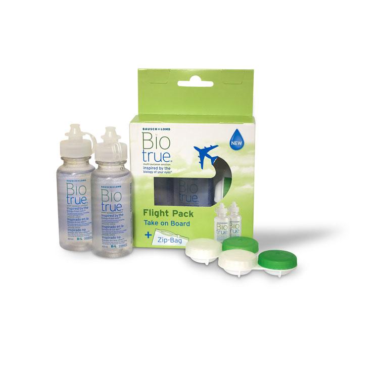 Solutie intretinere lentile de contact 60 ml + cadou cutie lentile